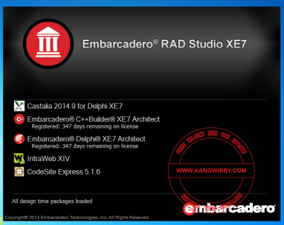 EMBARCADERO RED STUDIO DELPHI EX7 FULL Aktivator